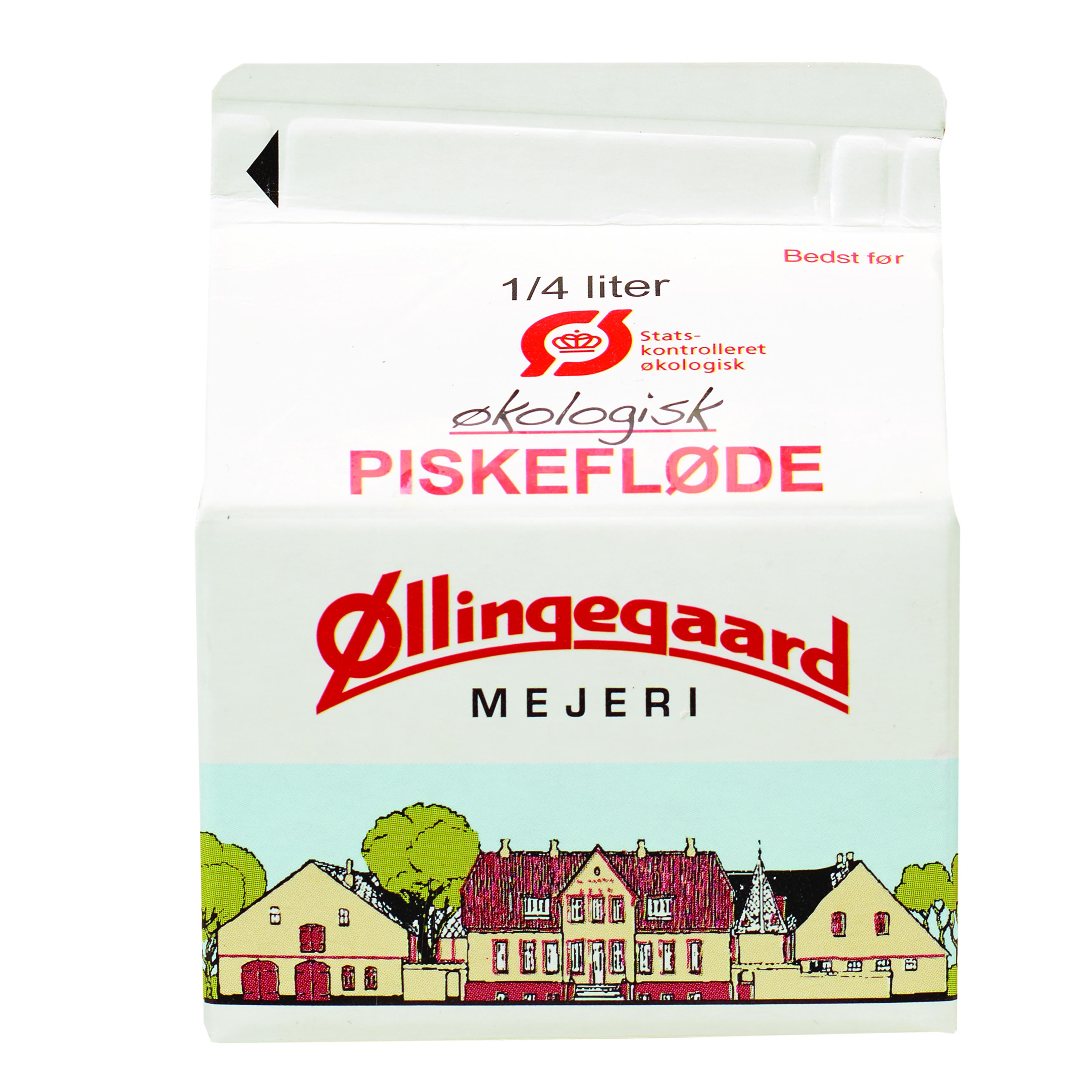 Folkekære Piskefløde 38% 0.25L – øllingegaard.dk FY-46